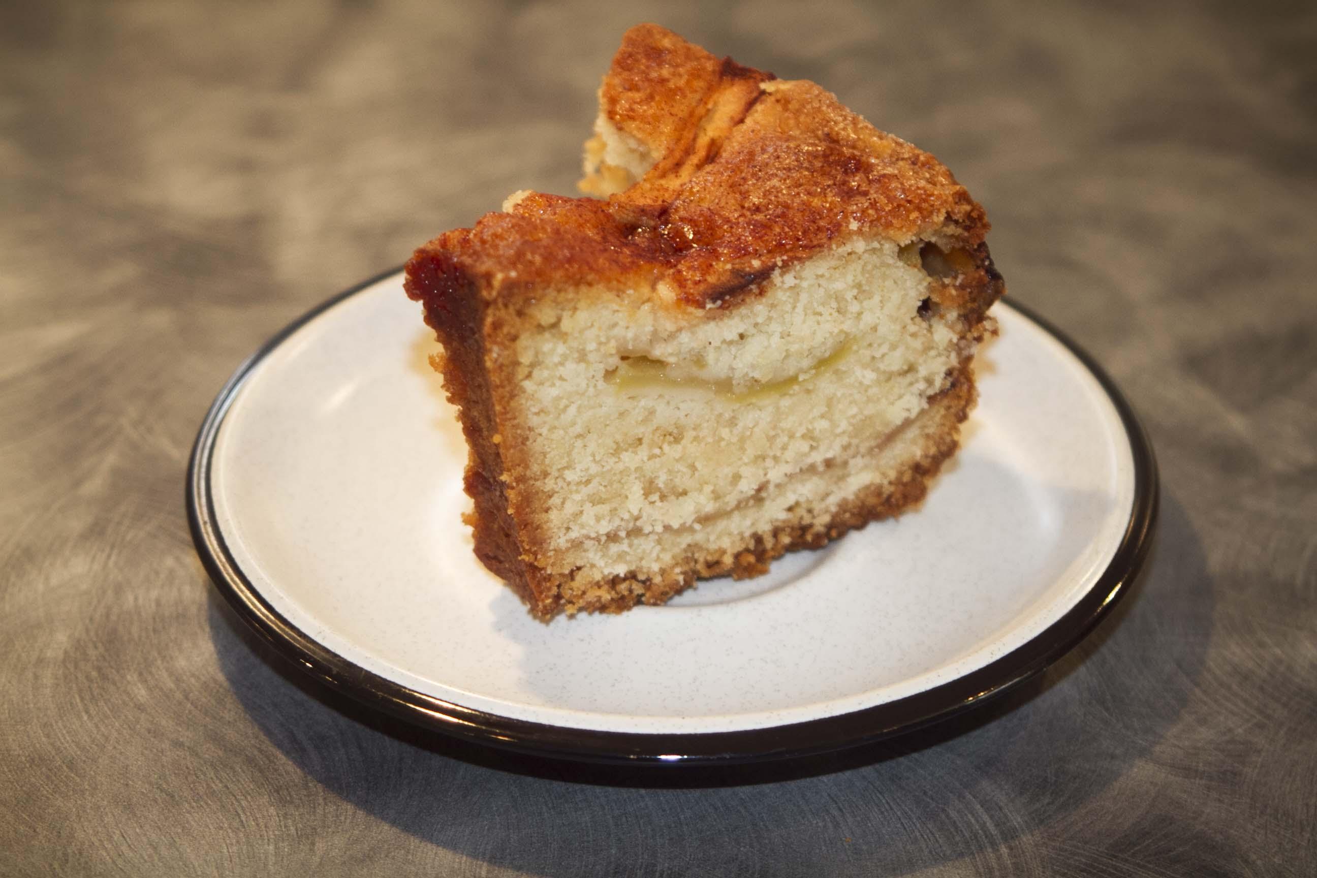 Jewish apple cake the vegan kat for Granny pottymouth bakes a vegan cake