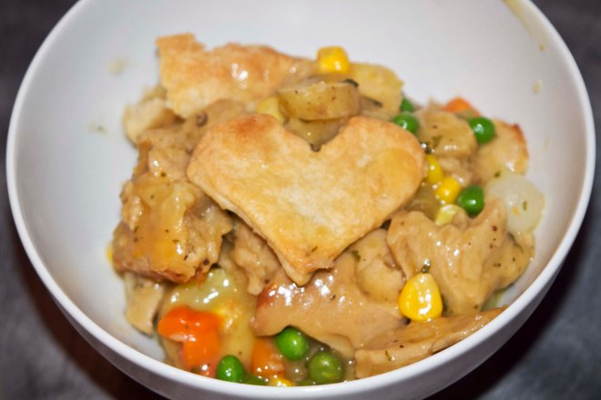 Seitan Pot Pie