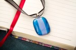 Handmade Fused Glass Pendant