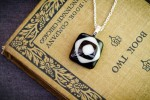 Black and White Pendant