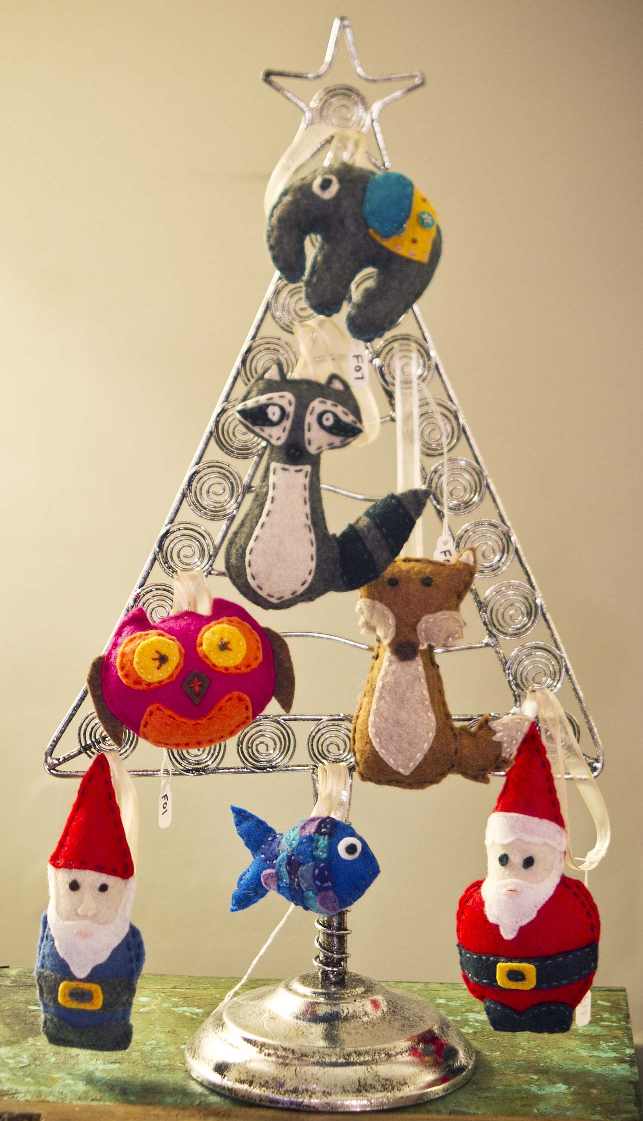 Glass cat ornaments - After Venturing Into Making Little Stuffed Creatures Like The Elephant Cat Toys In My Previous Post I Ve Gotten A Bit Hooked On Creating New Patterns